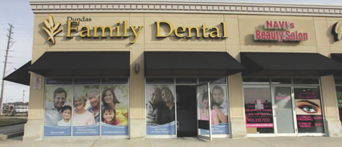 Dundas Family Dental Office in Burlington Ontario
